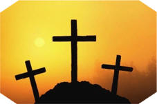 Good Friday: Silhouettes of Three Crosses - © corbis