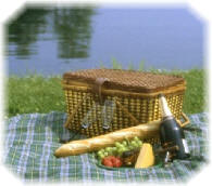 Labor Day Picnic  (Image licensed from the Microsoft Office Clip Art Gallery.)