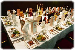Table Set for Seder - © corbis