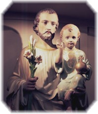 Saint Joseph and the Child Jesus